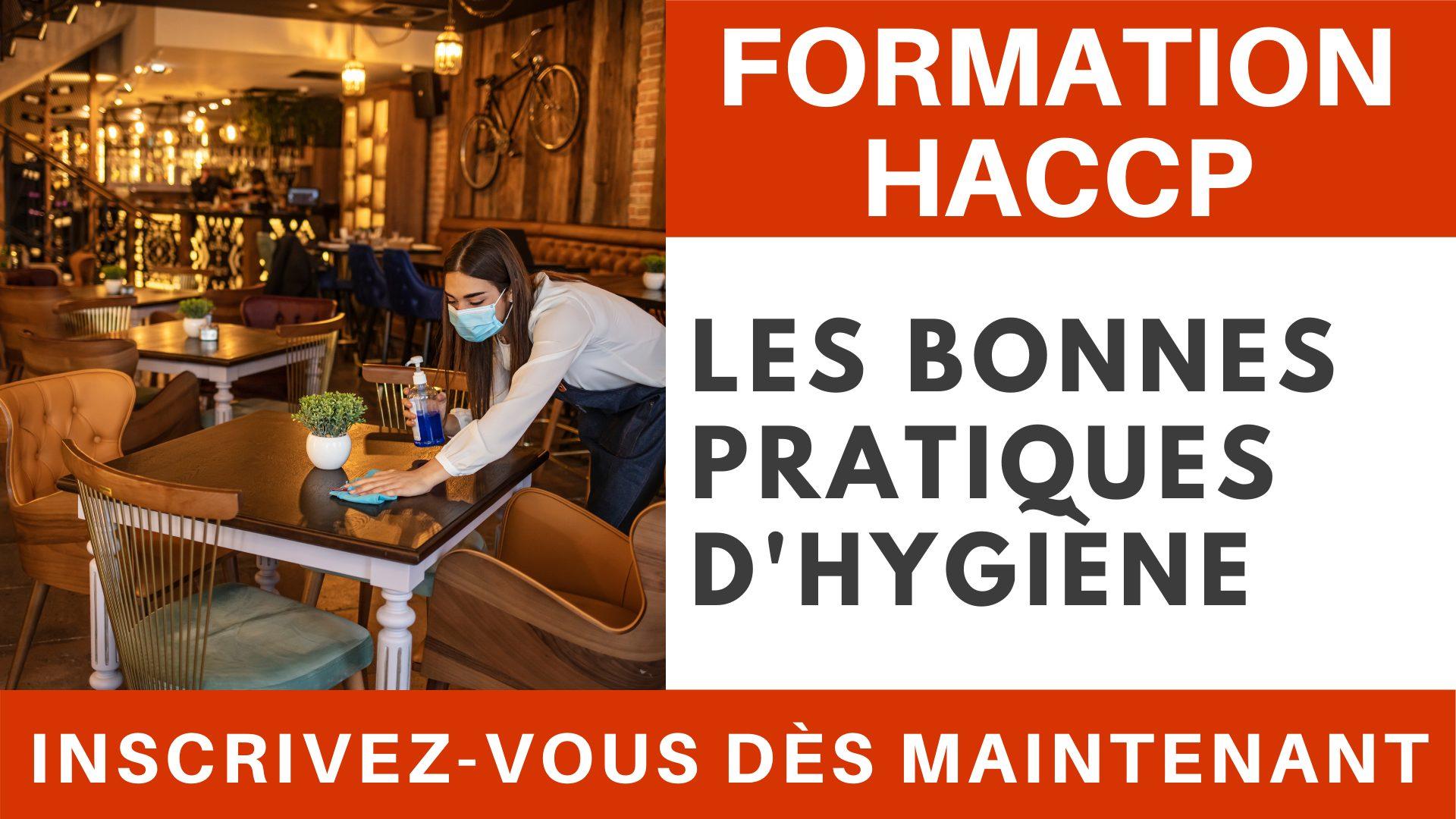 Formation HACCP - Les bonnes pratiques d'hygiène