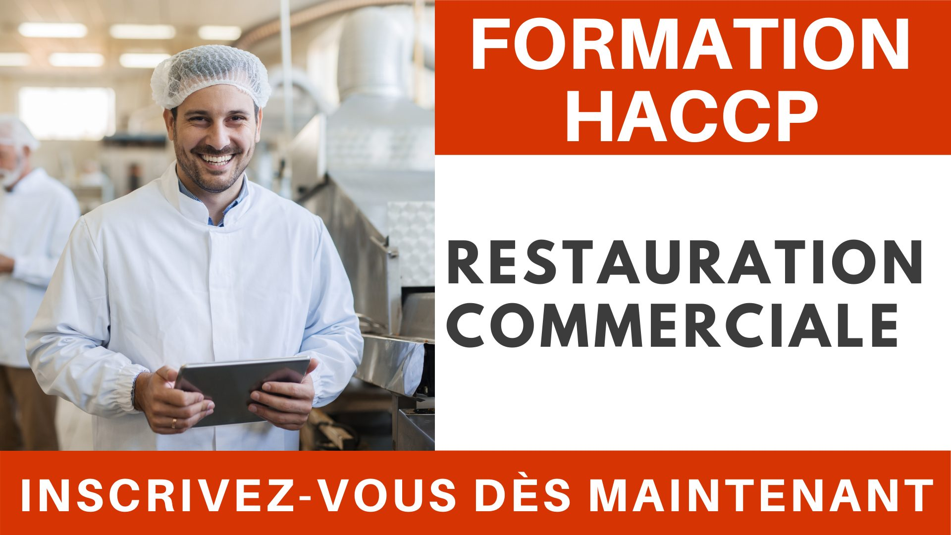 Formation HACCP - Restauration commerciale